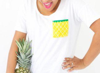 تزئین لباس های ساده با جیب های میوه ای!