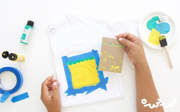 تزئین تیشرت های ساده با جیب های میوه ای!