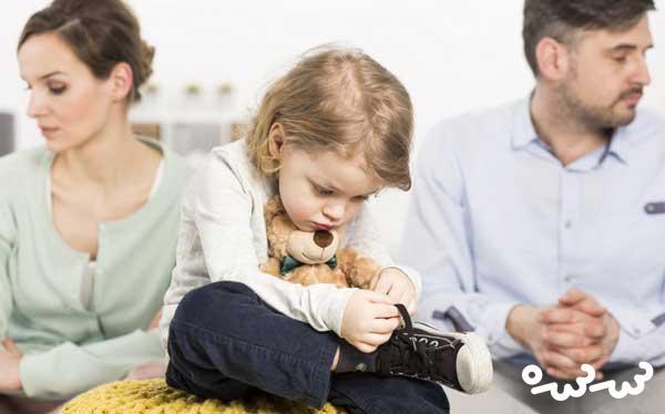 کودکان قربانی اصلی طلاق عاطفی در خانواده ها
