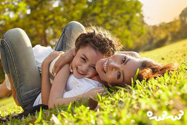 ۹ ویژگی که کودک از مادر به ارث می برد