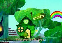 ABC Kids - آموزش رنگها به انگلیسی (سبز)