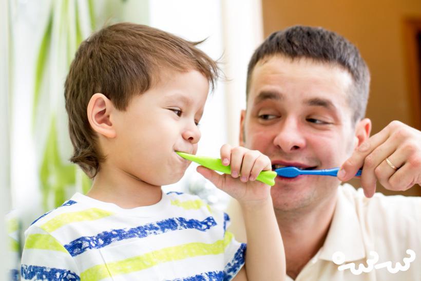 خمیر دندان مخصوص کودکان و نحوه ی استفاده از آن