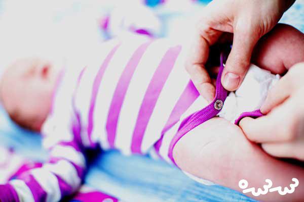 عوامل حساسیت پوشک و روش های درمان