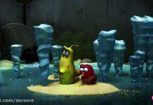 کارتون لاروا - جاده یخی