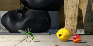 کارتون لاروا - توپ شیطونک