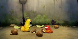 کارتون لاروا - walnut