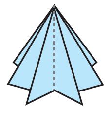 درخت کاج اوریگامی ؛ کاردستی های کریسمس