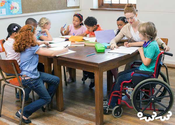 برای کودکان معلول بیشتر کتاب بخوانید!