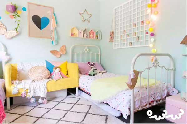۱۰ ایده خاص برای دکوراسیون اتاق کودک