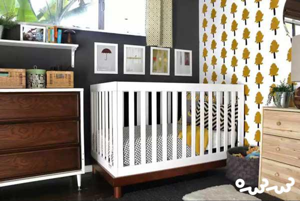 نصب کاغذ دیواری مناسب اتاق کودک