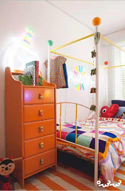 تاثیر چراغ ها در دکور اتاق کودک