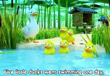 abc kids - five little ducks