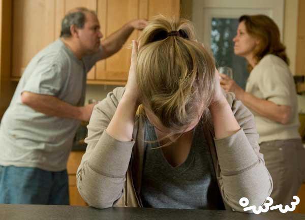 واکنش نوجوانان نسبت به طلاق والدین