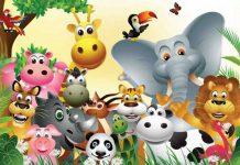 شعر آموزش حیوانات به کودکان
