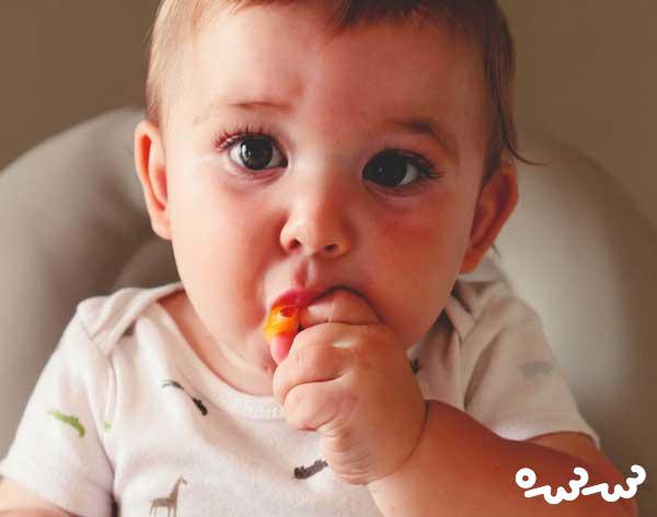 غذاهای انگشتی نوزاد مناسب سن 6 الی 9 ماه