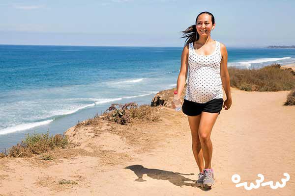فواید دیگر پیاده روی در زمان بارداری