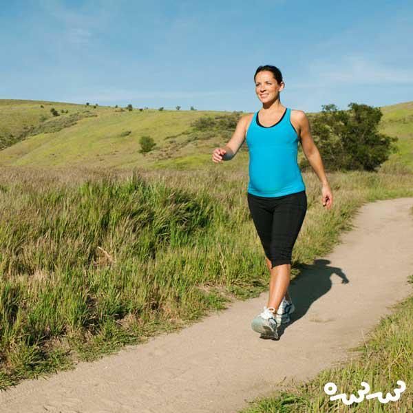 پیاده روی در زمان بارداری در سه ماهه دوم