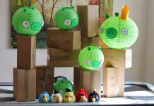 کارگاه بازی پرندگان خشمگین برای کودکان