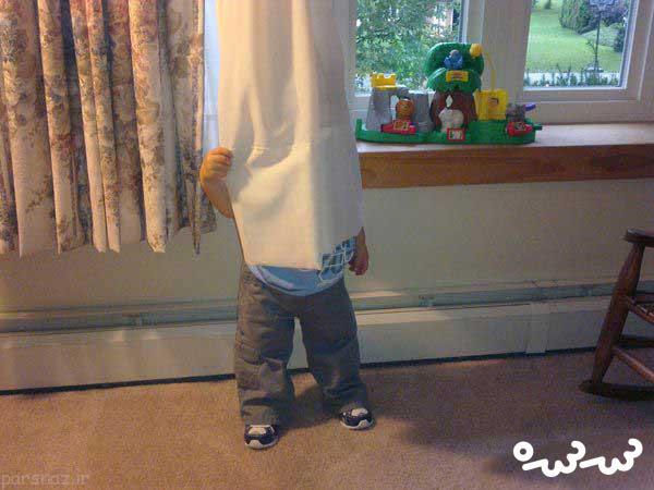 بازی در خانه با کودک دو ساله