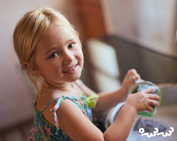 تلاش برای تربیت یک کودک شاد