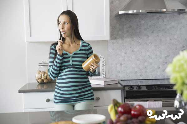 مصرف کره بادام زمینی در بارداری ضرر دارد؟