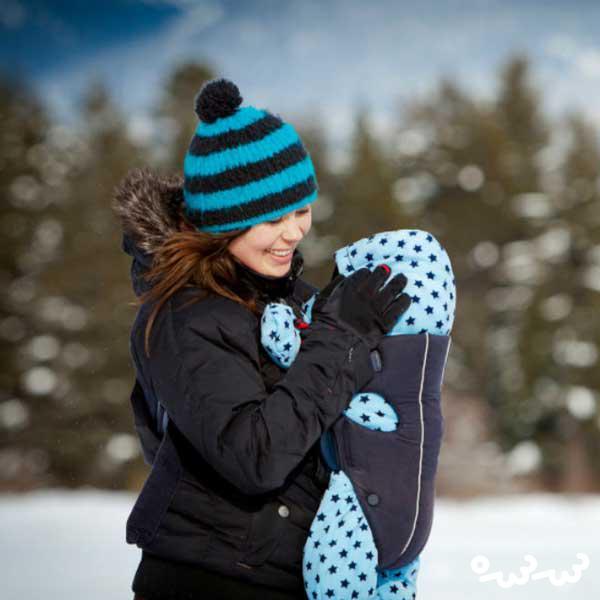 بیرون بردن نوزاد در زمستان