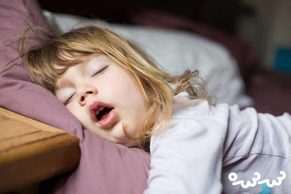 خواب کودک دو ساله