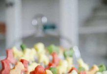 هندوانه شب یلدا را به کمک بچه ها تزئین کنید