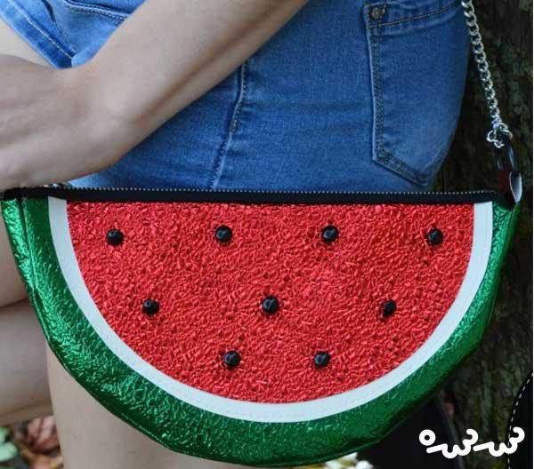 دوخت کیف هندوانه
