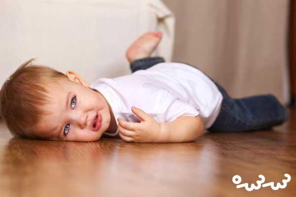 تکان دادن سر در کودکان و نوزادان