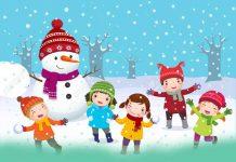 شعر کودکانه ماه های زمستان ؛ آموزش فصل زمستان به کودکان