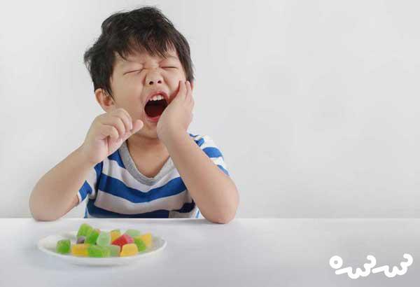 پیشگیری از دندان درد کودکان