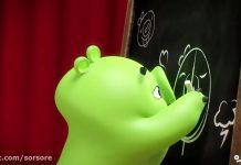 کارتون Chalk It Up - piggy tales
