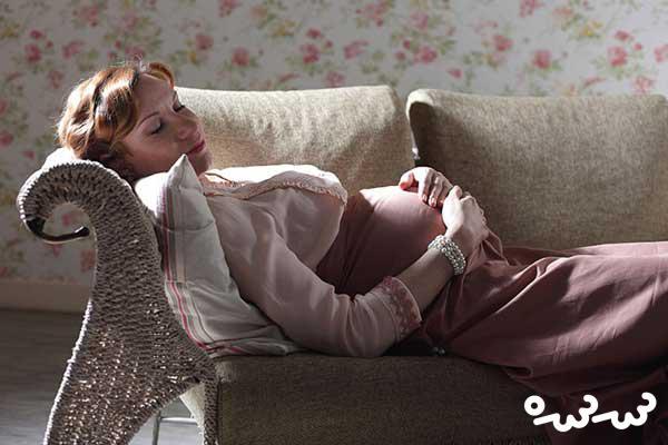 راحت خوابیدن در بارداری