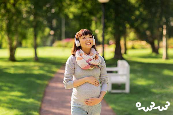 طرز خوابیدن زن باردار