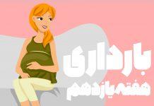 هفته یازدهم بارداری