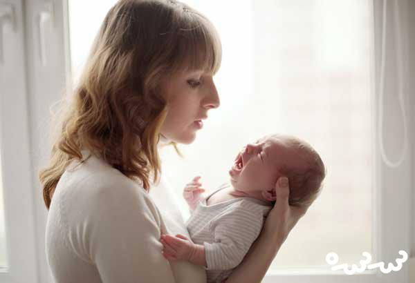 قولنج کردن نوزاد