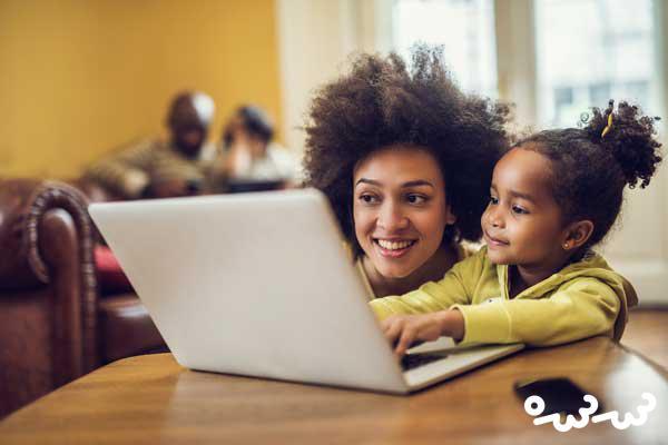 اثرات استفاده از اینترنت روی کودکان