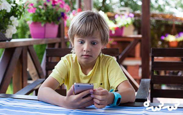 استفاده کودکان از اینترنت برای یادگیری