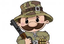 شکارچی کارتونی