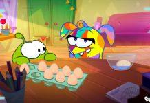 کارتون Easter - om nom