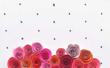 آموزش ساخت حلقه گل رز به شکل قلب