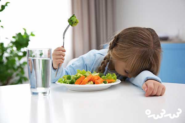 امتناع از غذا خوردن کودک