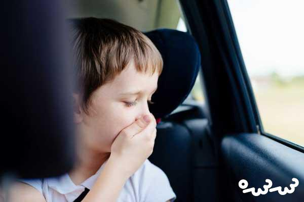 علت و راه درمان حالت تهوع در ماشین