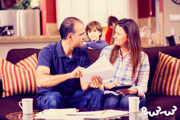 اختلاف نظر پدر و مادر در تربیت فرزند