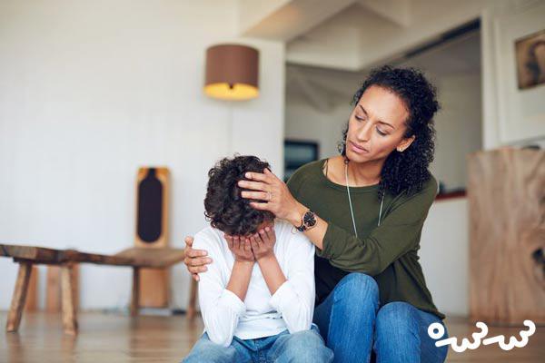 کاهش اضطراب در کودک