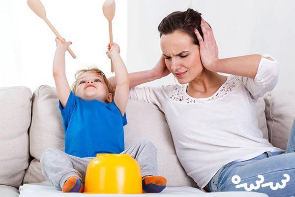 نشانه های بیش فعالی در کودک ۳ ساله