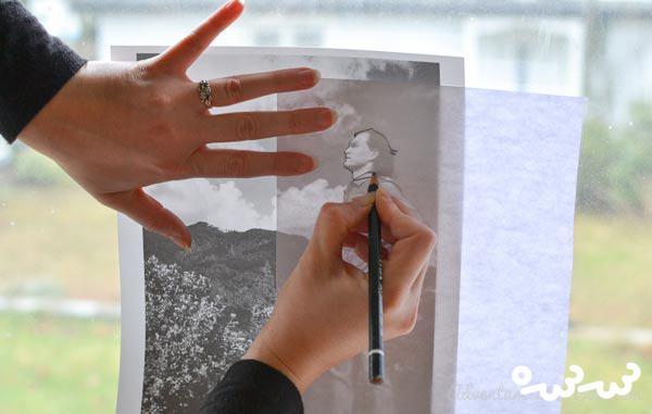 کارت پستال دست ساز زیبا