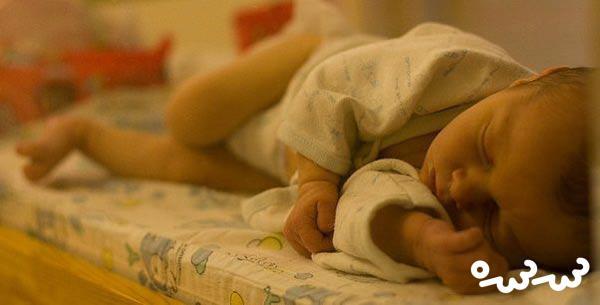 درمان کم شدن آب بدن نوزاد