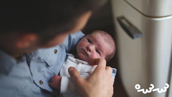کاهش اب بدن نوزاد